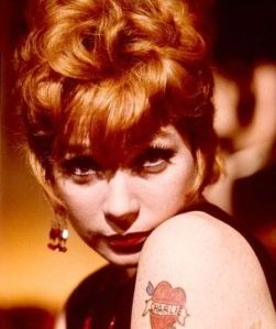 Hmm, short hair, red lipstick, AND a tattoo.  Why couldn't I be just like Shirley?