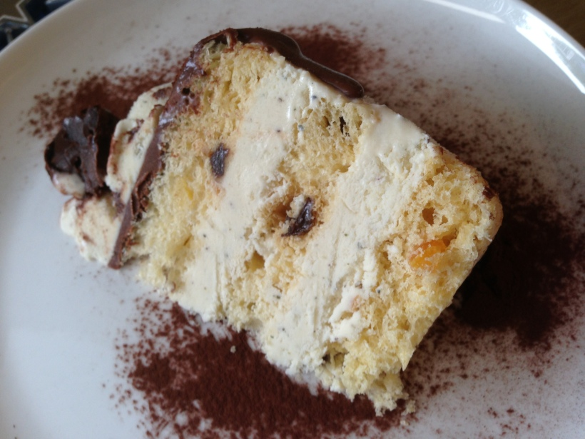Looks a little like tartufo! How could you resist an Italian ice cream based dessert?