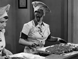Lucille Ball chocolate face